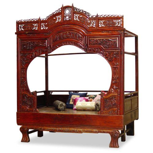 Complete the look by adding Chinese accents to the rest of the room – buy Chinese design tables, drawers, dressers and other bedroom furniture.
