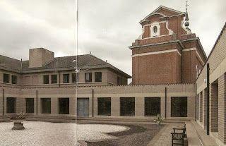 Convent in Waasmunster Belgium, Dom Hans Van Der Laan