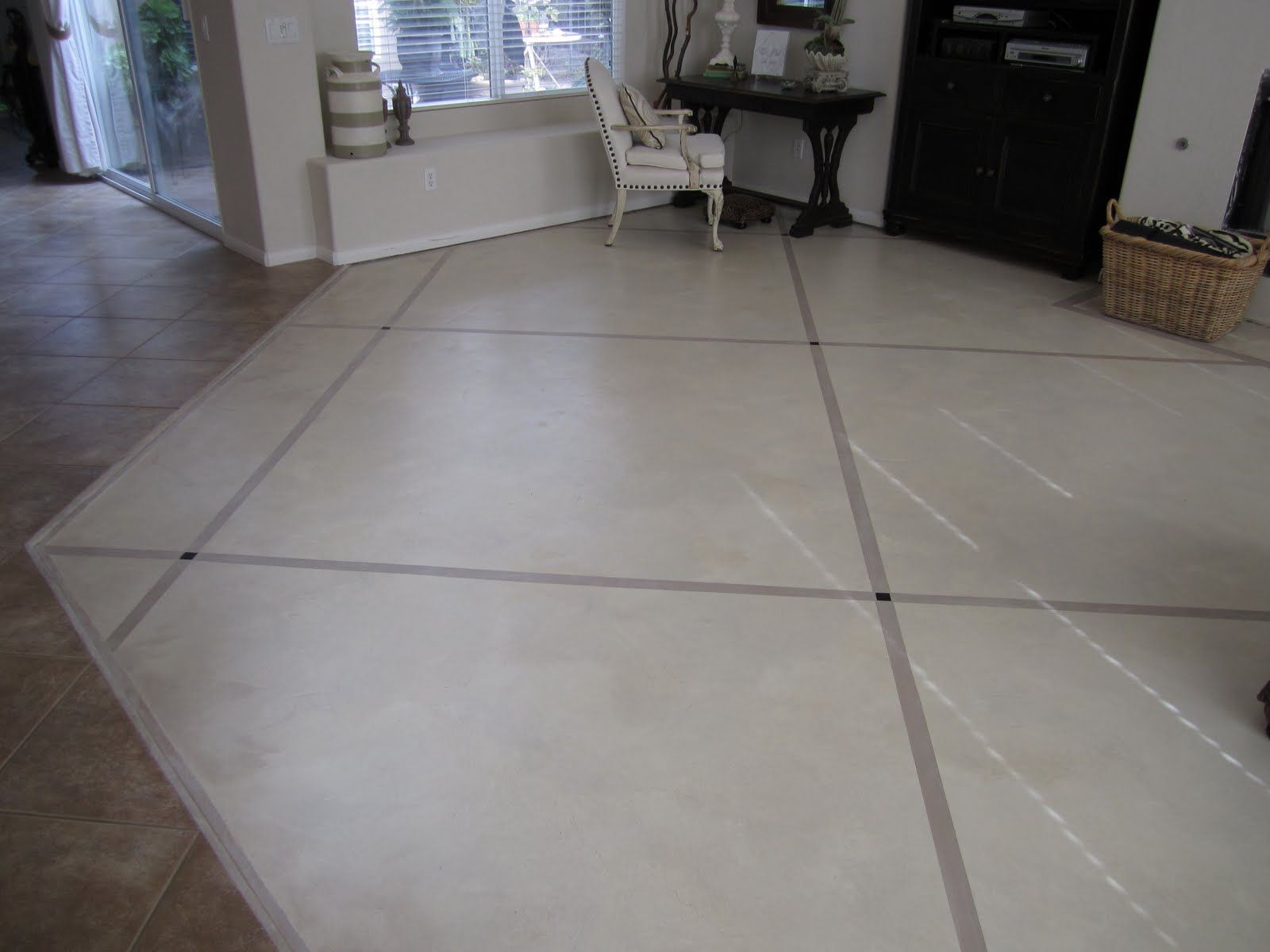 Anythingology step by step instructions on how to prep and paint anythingology step by step instructions on how to prep and paint concrete floors dailygadgetfo Gallery