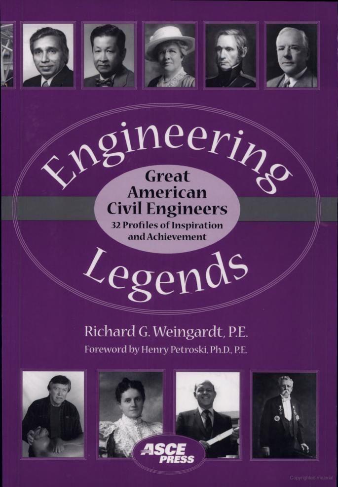 Engineering Legends Great American Civil Engineers