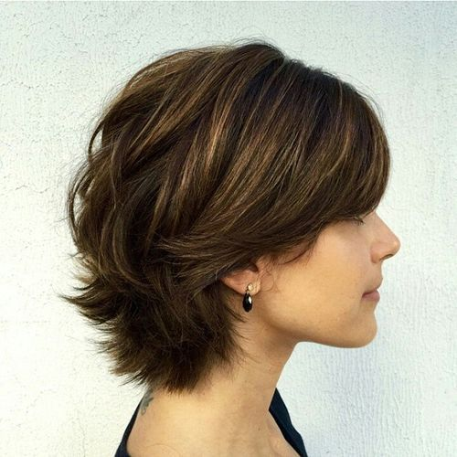 60 Classy Short Haircuts And Hairstyles For Thick Hair Bob Haircut For Fine Hair Short Hair With Layers Haircuts For Fine Hair