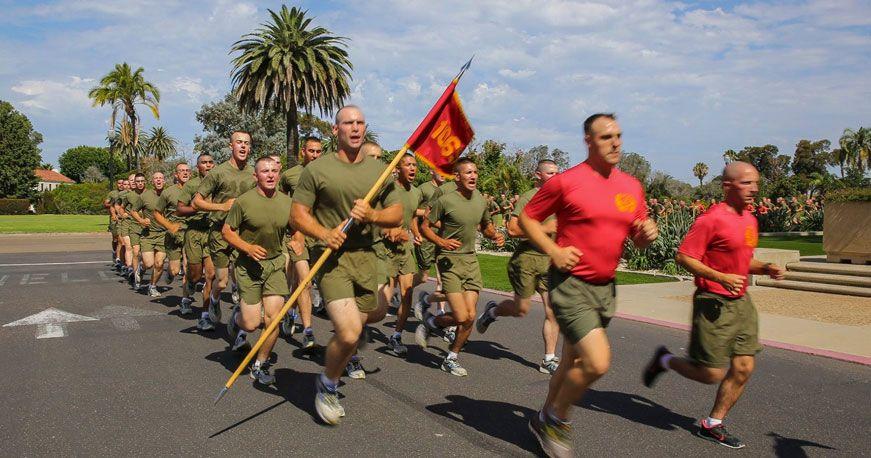 San Diego Moto Run Marine Corps Bootcamp Marine Corps Birthday Marine Corps
