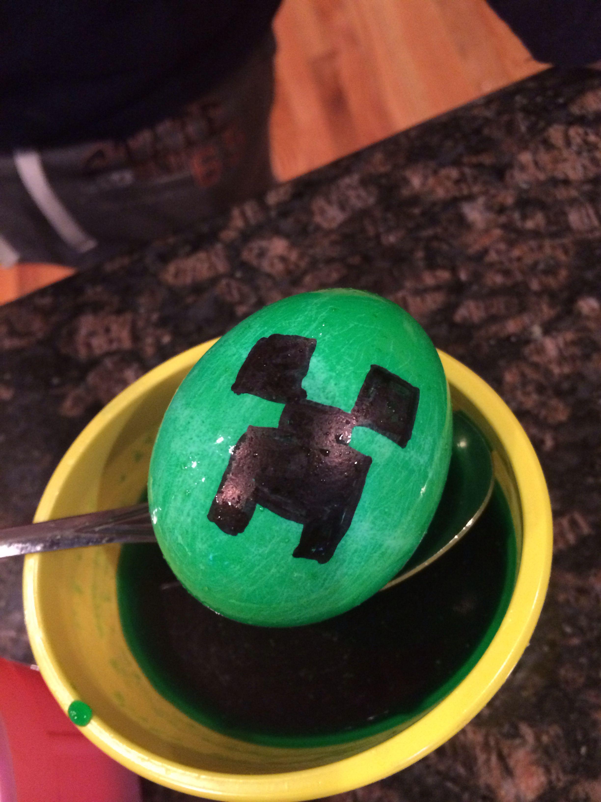 Minecraft Creeper Easter Egg