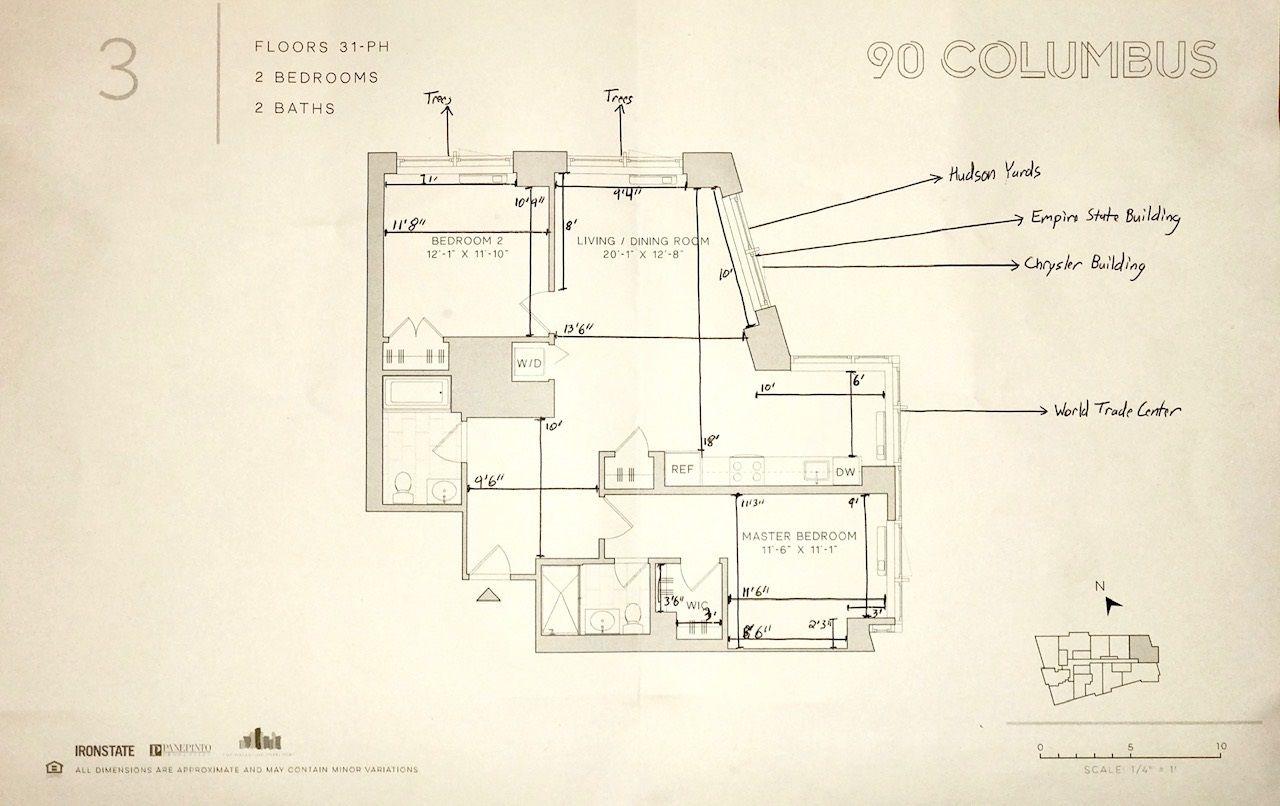 Floor Plan With Measurements And View Notes Floor Plans Bedroom Flooring How To Plan