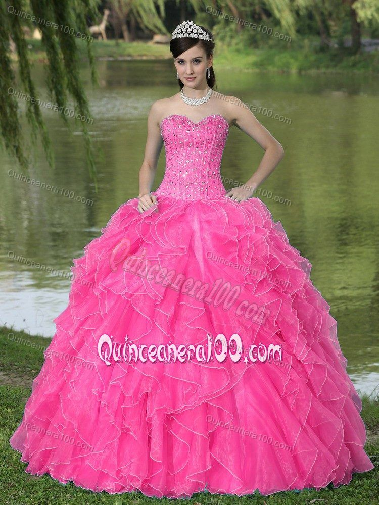 Hot Pink Sweet 16 Dresses | ... Hot pink Quinceanera Dresses,sweet ...