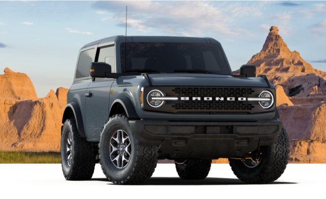 2021 Ford Bronco's Six Trim Levels Explained in 2020