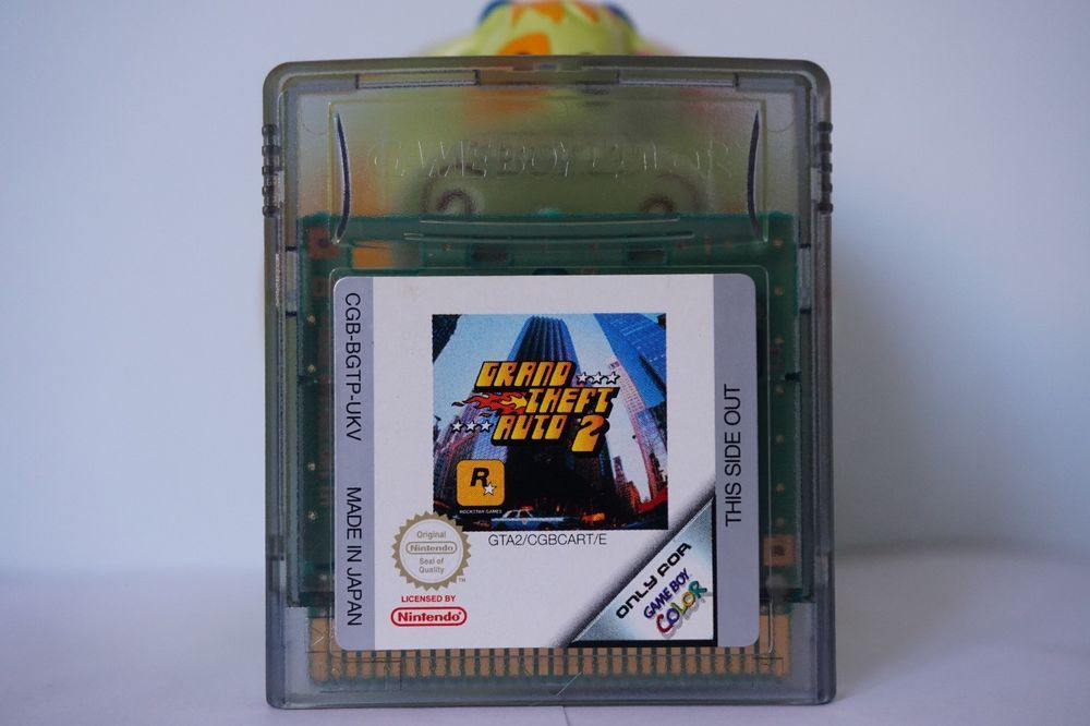 Grand Theft Auto 2 Gta 2 Nintendo Game Boy Color Au Gameboy 6432 Grandtheftauto2 Grand Theft Auto Gameboy Color