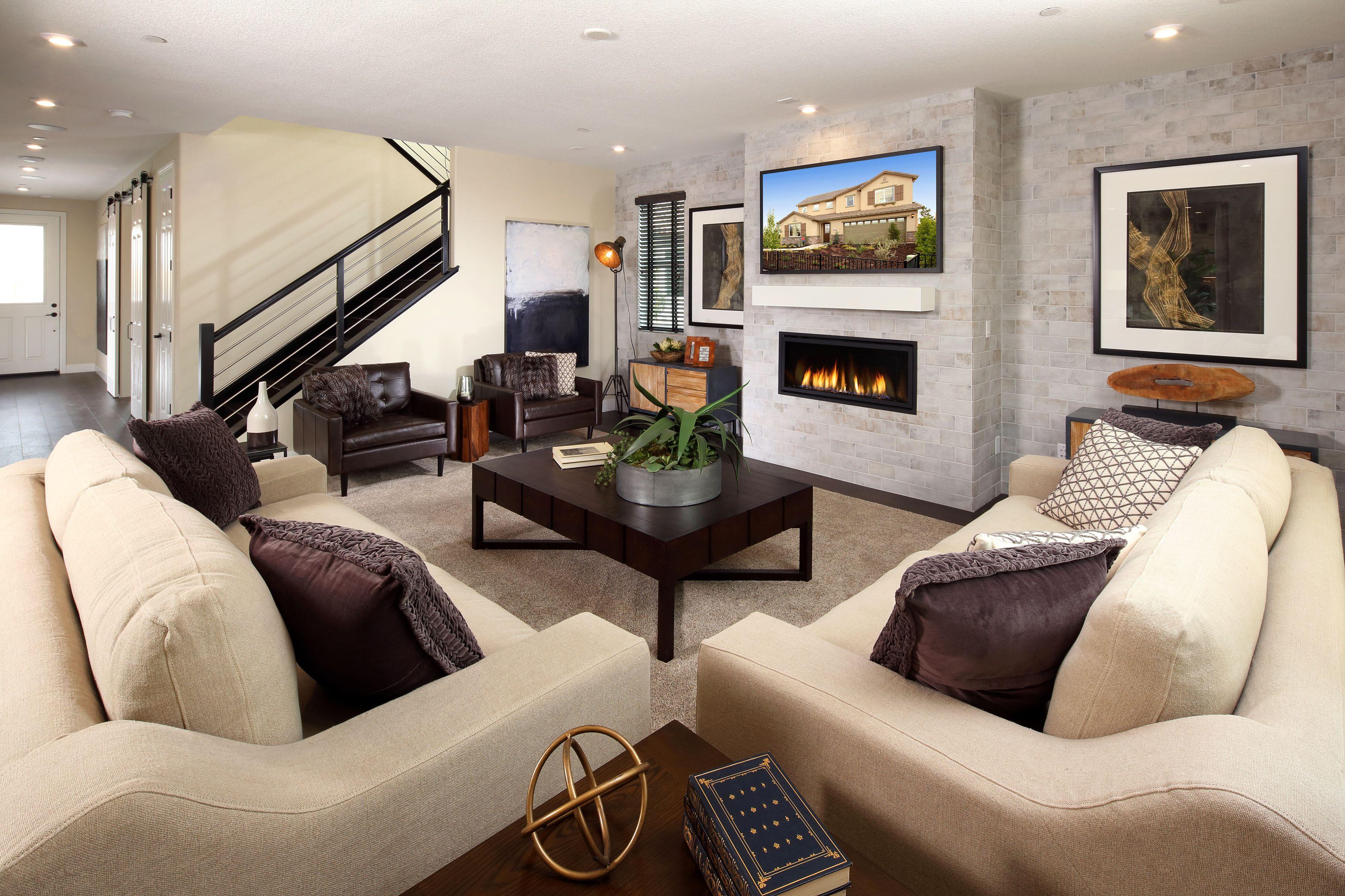 Designed to captivate fireplace greatroom folsom