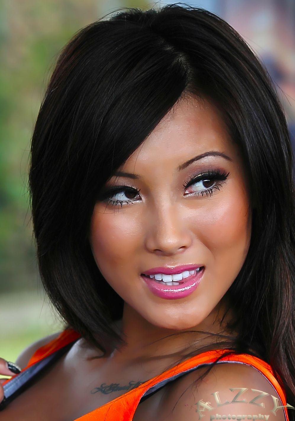 rascal pick - amy fay - busty - asian beauty - long hair - black