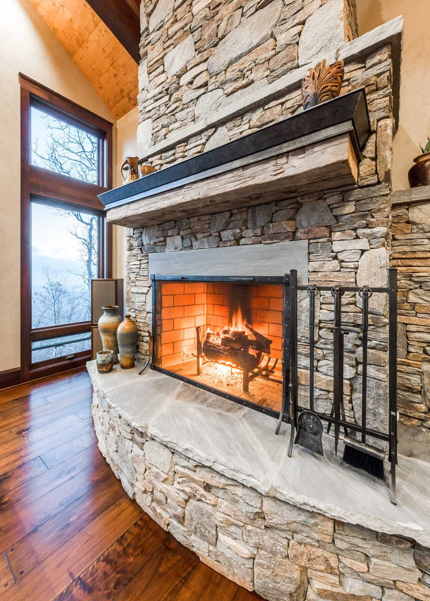 """Frank Lloyd Wright is often quoted as saying """"The hearth is the"""