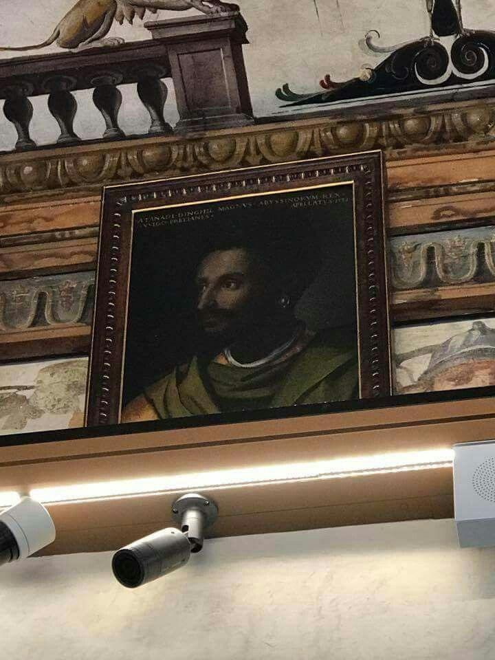 The Historical photo of Ethiopian Emperor Lebna Dengel at the Uffizi on saudi houses interior, kenyan houses interior, indian houses interior, british houses interior, canadian houses interior, hispanic houses interior,