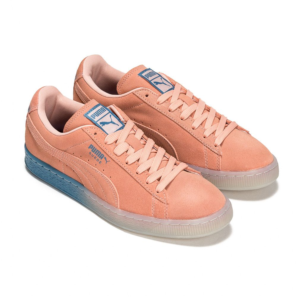 Pink Dolphin X PUMA® Suede Classic in Coral Pink