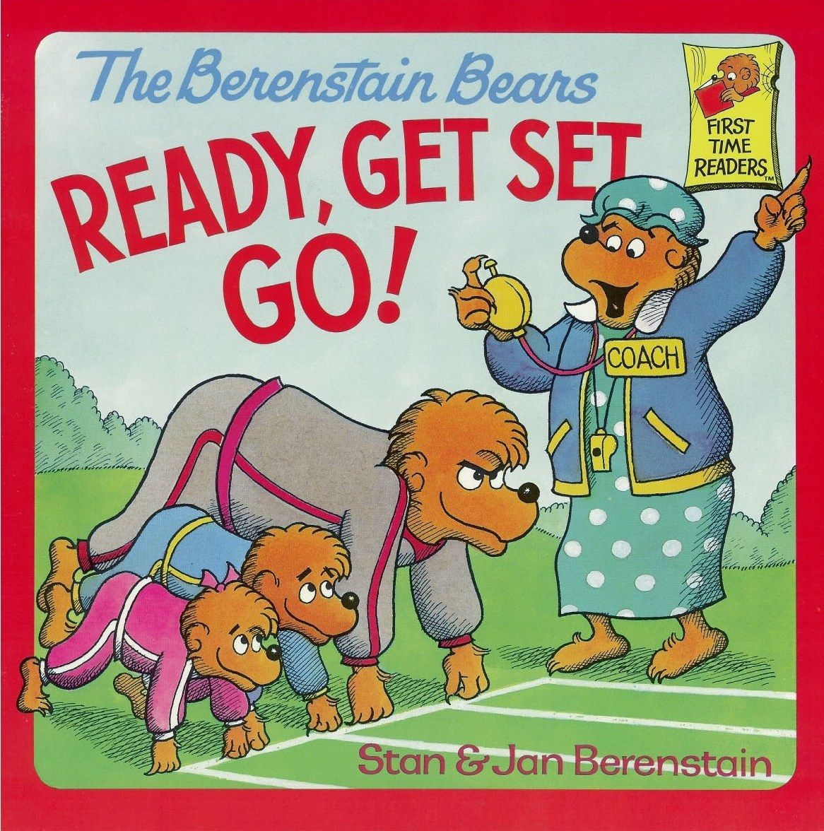 The Berenstain Bears Ready Get Set Go Time For Summer