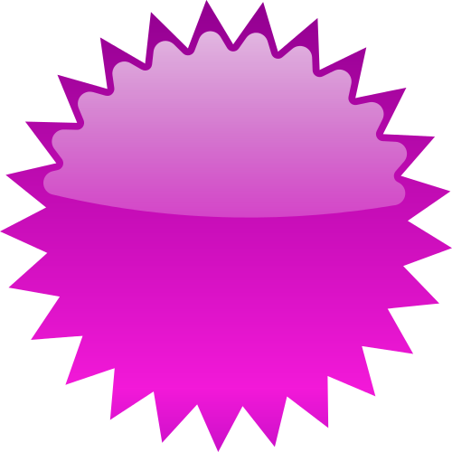 Star Burst Blank Purple Starburst Stars Purple
