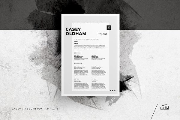 Resume Templates bilmaw creative - Resume/CV - Casey Books Worth - professional cv writing samples