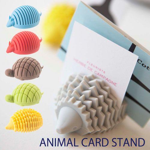 animal card stand