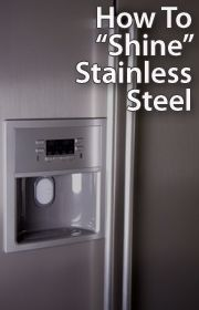 How To Keep A Stainless Steel Product Shining