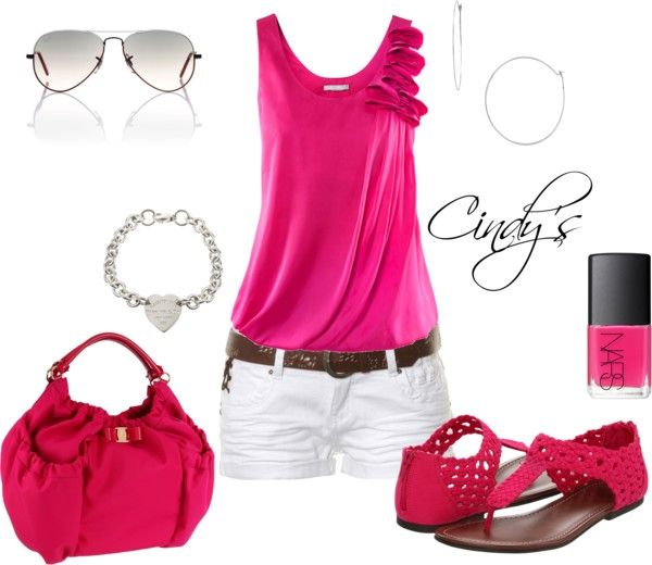 """""""Always been a """"PINK"""" loving girl:)"""" by cindycook10 on Polyvore"""