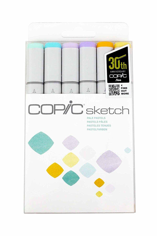 Amazonsmile Copic Markers 6 Piece Sketch Set Skin Tones I