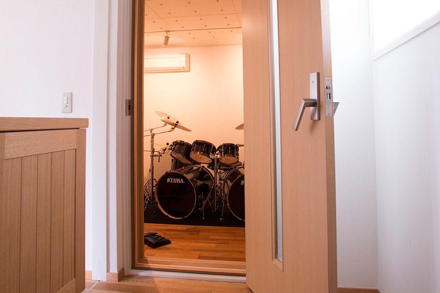 趣味と子育て 1 好きなドラムを思いっきり叩ける家を作りたい