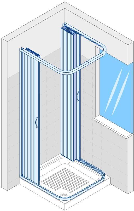 Problema finestra nella doccia 3 idee bagno pinterest - Bagno finestra nella doccia ...