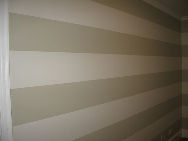 Master bedroom wall paint designs - Best 25 Striped Walls Horizontal Ideas On Pinterest