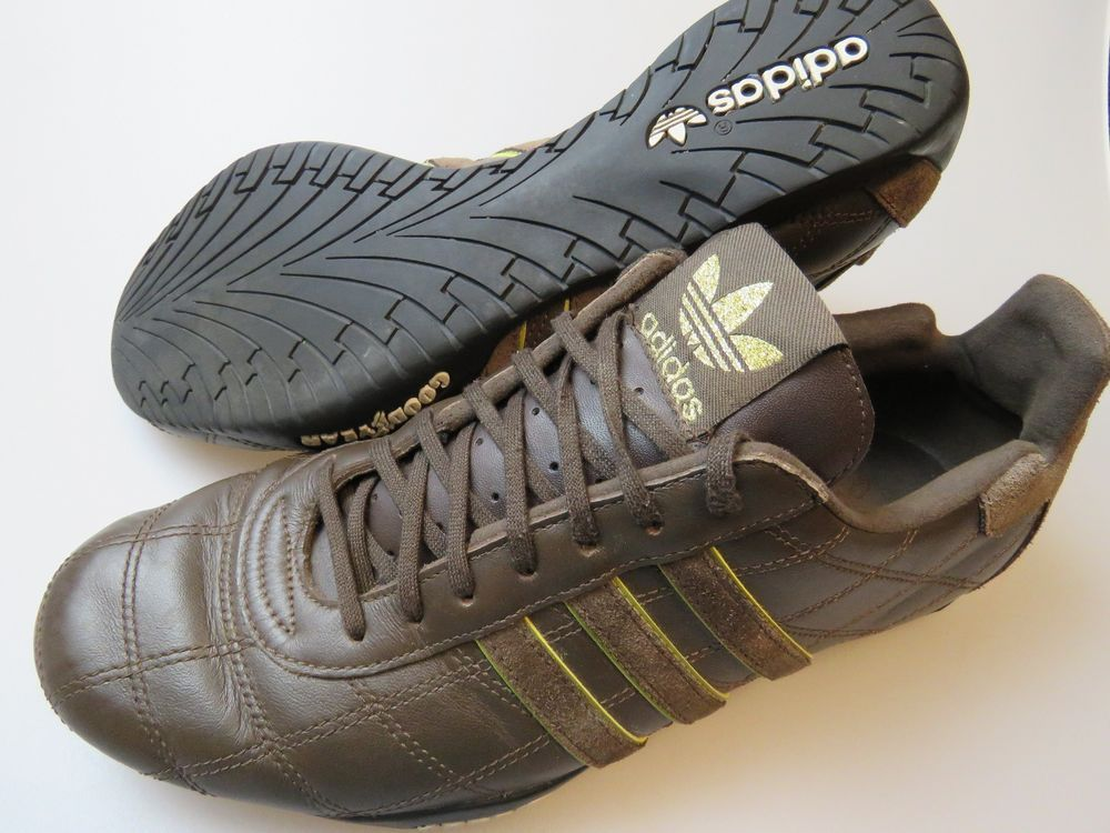 low priced 0daca dfc8d ADIDAS Tuscany Goodyear Brown Shoes Men s Size 10  Adidas  AthleticSneakers