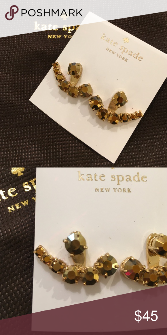 ✨KATE SPADE EARRINGS✨ New Kate Spade earrings. Ask any questions NO TRADES kate spade Jewelry Earrings