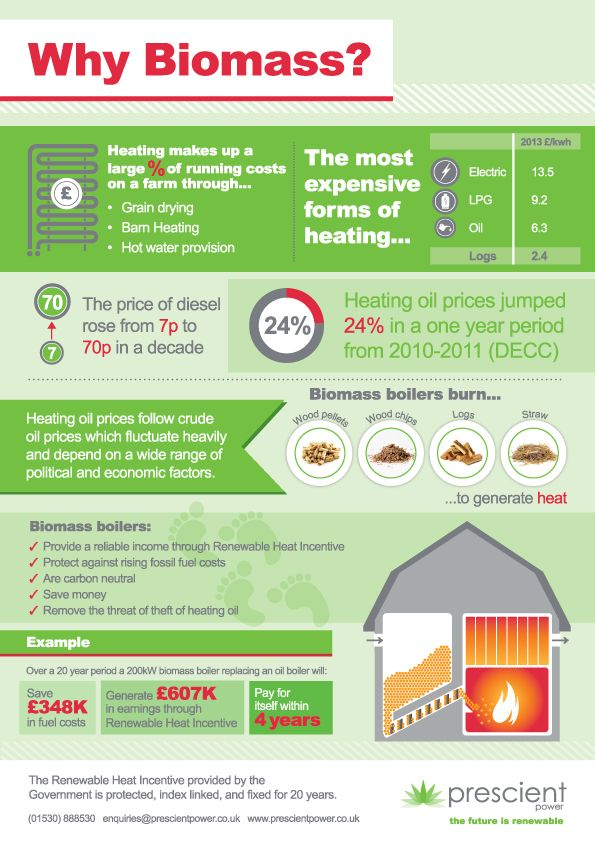 Why Biomass Infographic Prescient Power Biomass Infographic