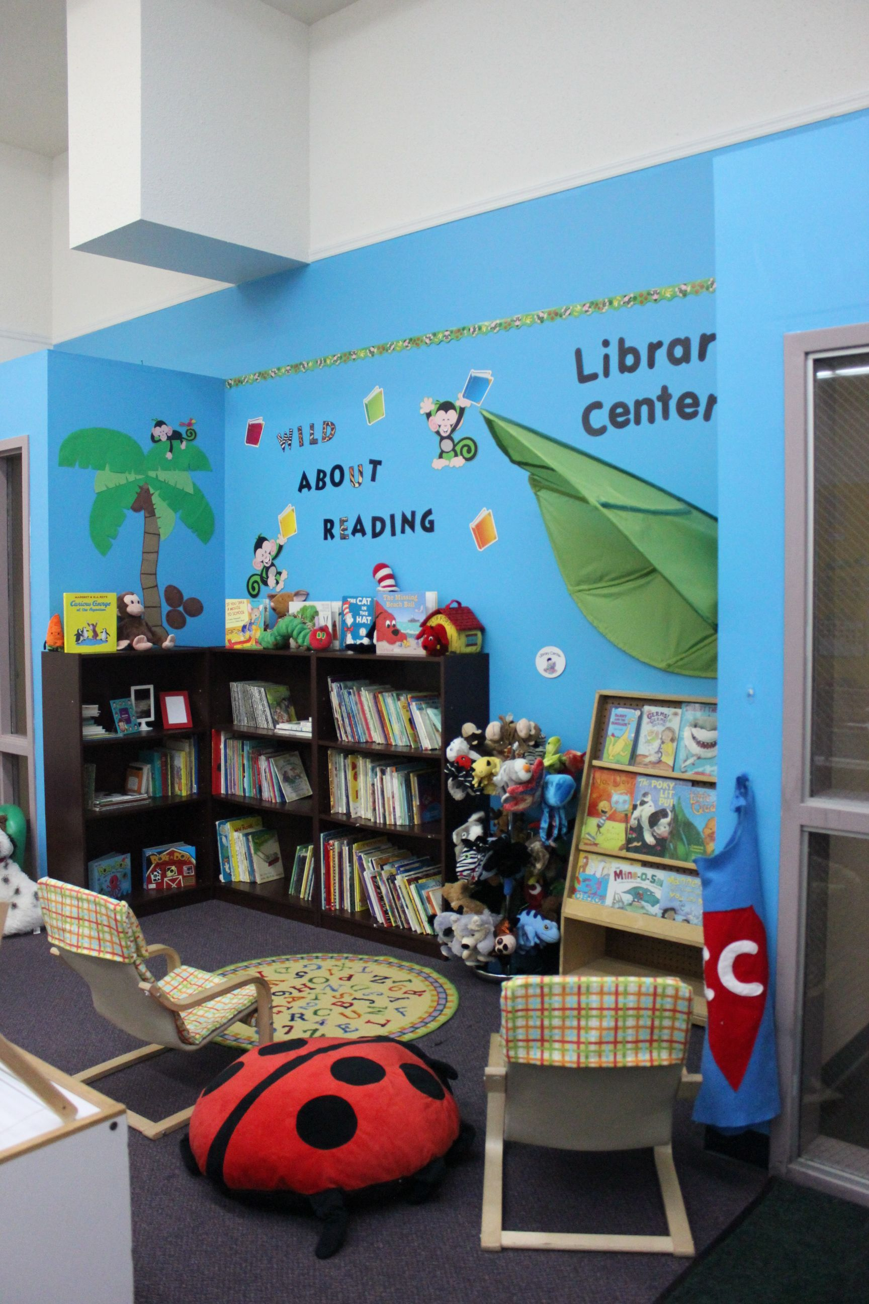 Jungle Themed Library Center