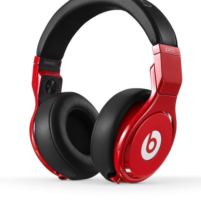 Black Red Beats By Dre Pro Headphone On Sale In 2019