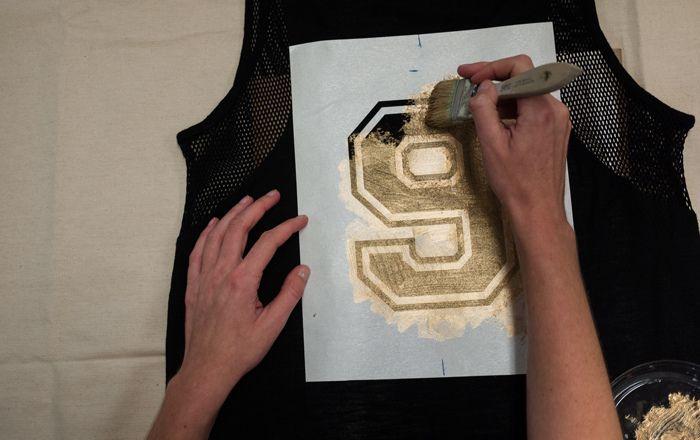 Making Quilt Sports Jerseys