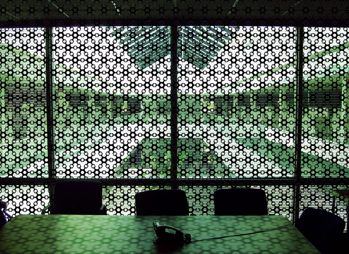 Space divider wall art joyn is a hexagonal module that can easily