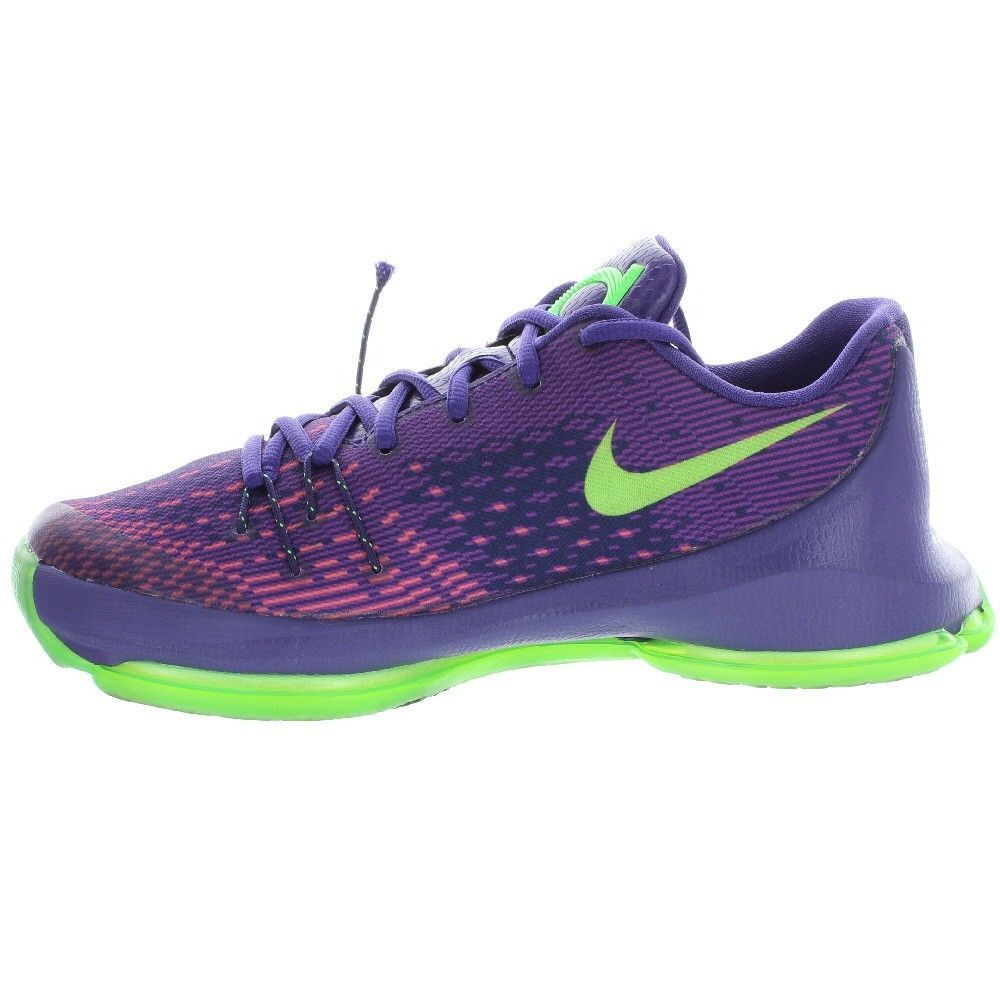 online store f02dc 7217f ... sale ebay sponsored nike kids youth purple green kd 8 basketball shoes  size 6y medium 301e1