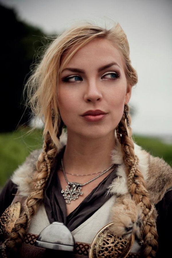 "Artist Reference | Character Inspiration | Look, Borre Viking Faire ""2012"" (vegvisir)"