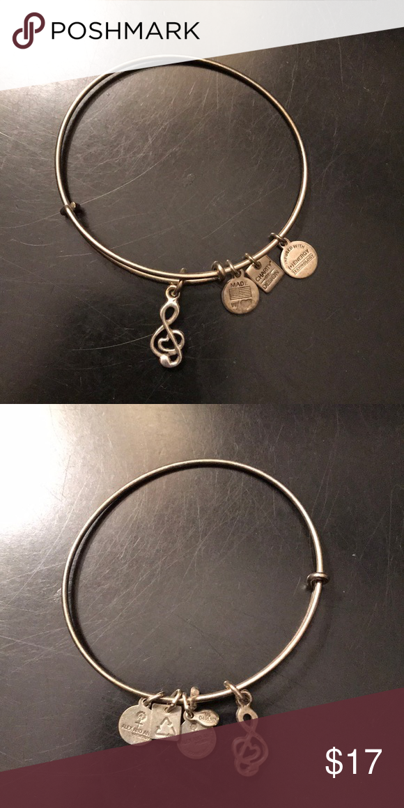 Alex Ani Music Note Bracelet