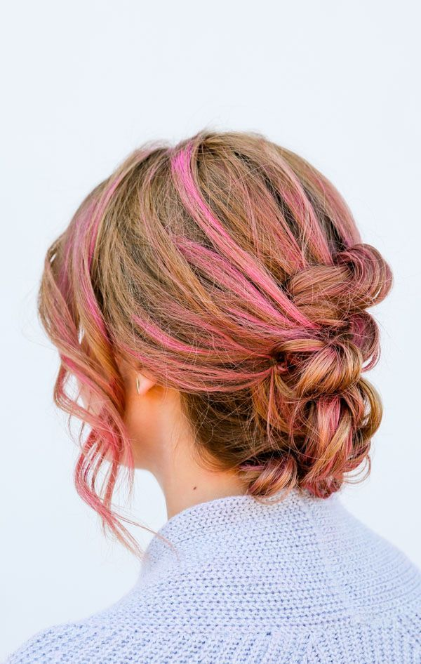 Knot Your Average Hair Tutorial: An Easy Knotted Up Do in 15 Minutes