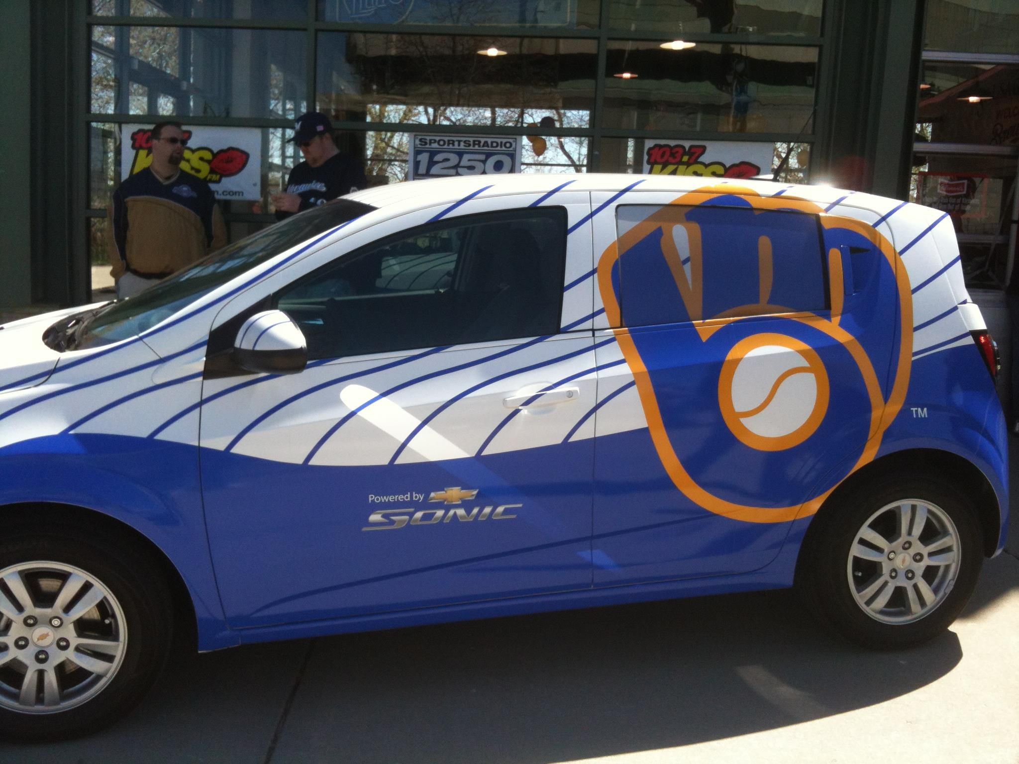 Chevy Dealer Milwaukee >> The Perfect Vehicle For The Perfect Brewersfan Milwaukee Brewers