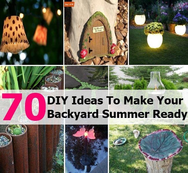 Top 70 Genius DIY Ideas To Make Your Backyard Summer Ready ...