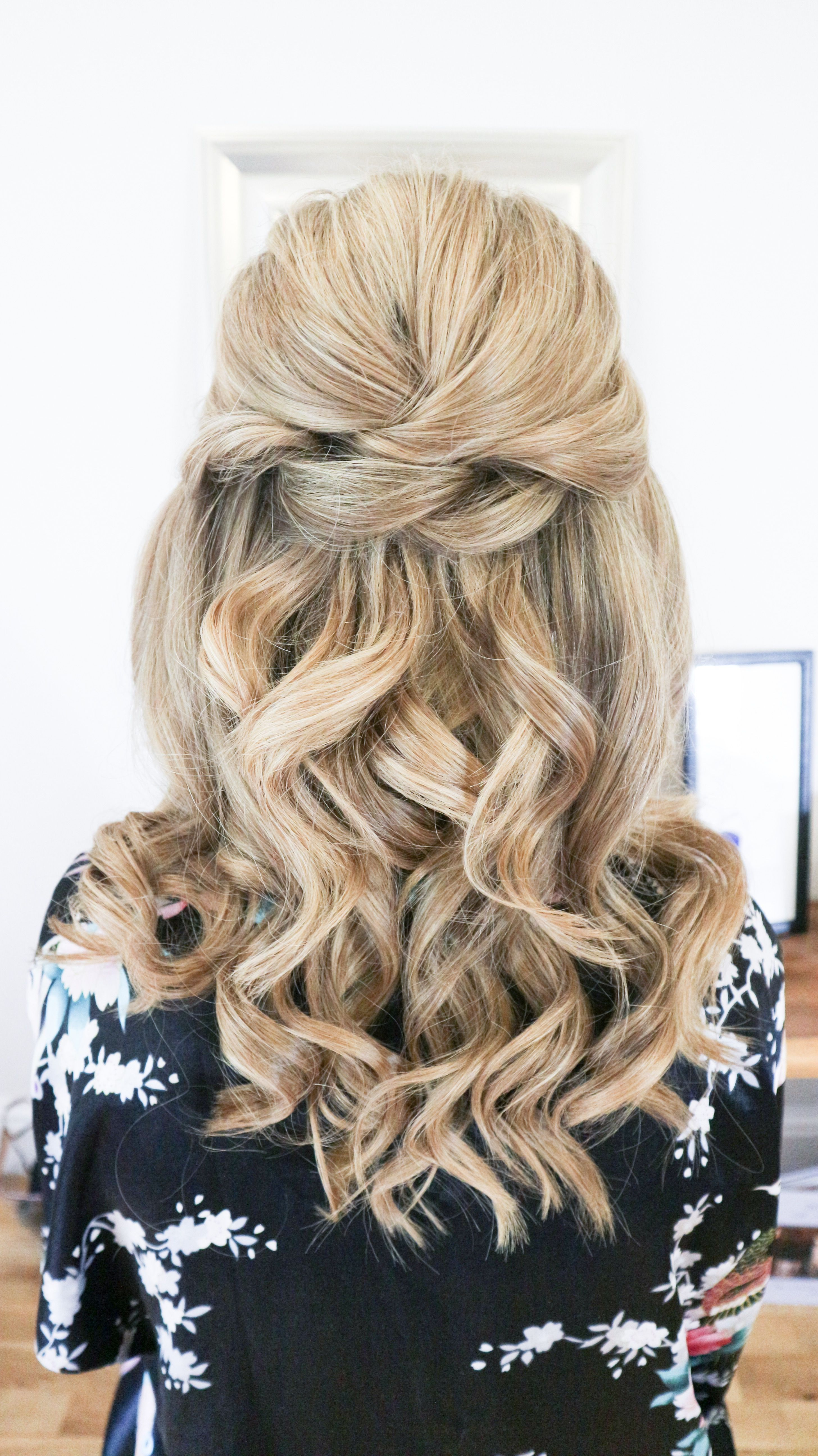 Love Your Locks Get The Best Hair Care Tips Wedding Hair Half
