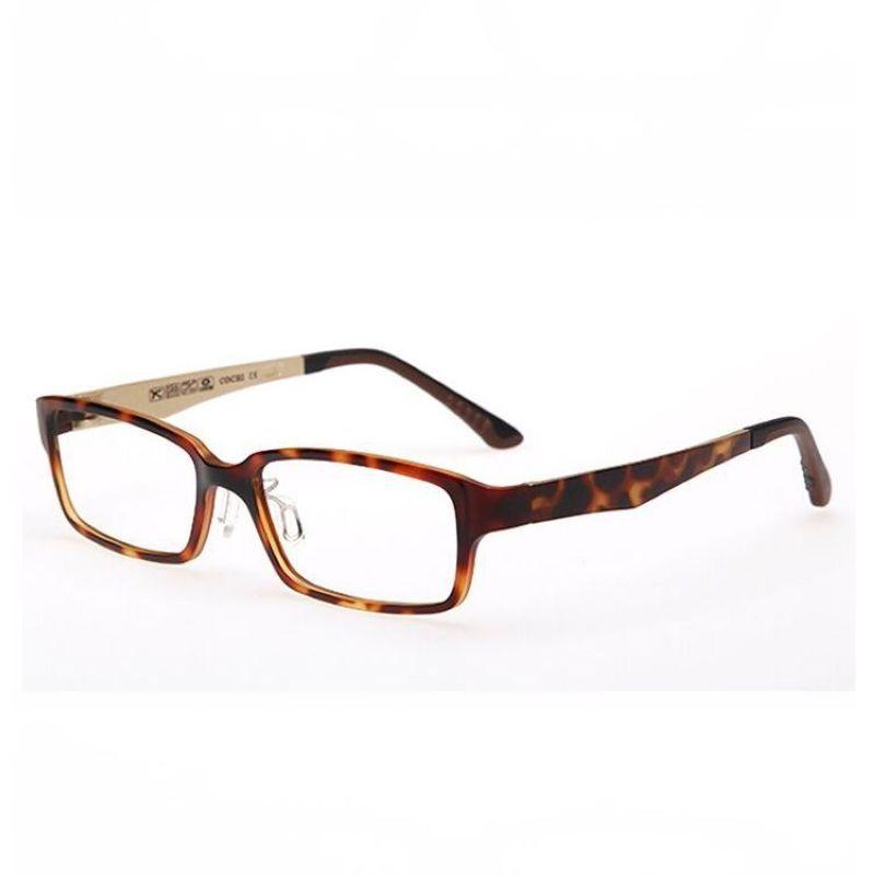 Lightweight Optical Prescription Glasses Rectangle Plastic-Steel ...