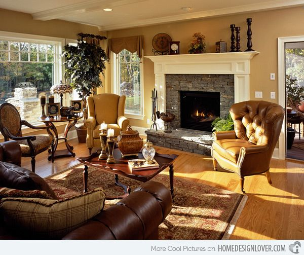 23 Traditional Living Rooms For Inspiration: 15 Interesting Traditional Living Room Designs