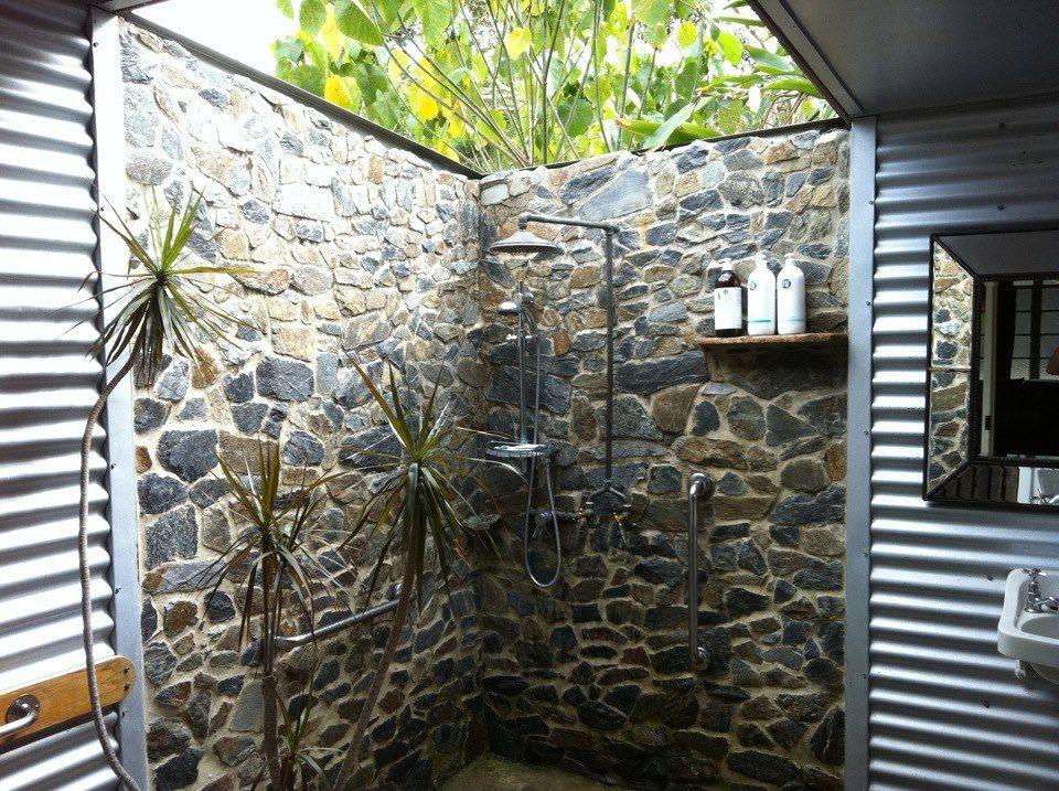 Semi Outdoor Bathroom Outdoor Bathrooms Outdoor Bathroom