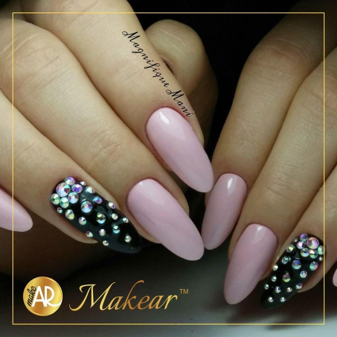 Makear On Instagram Wyk Magnifiquemani Makeart Nailart Nail4u Pink Gold Inspiration Freetime Nails Goodnails Pink P Pink Nails Nails Nail Art