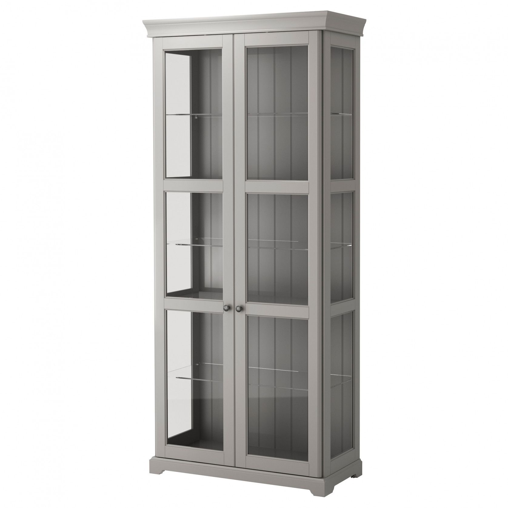 2018 White Display Cabinets With Glass Doors Kitchen Floor Vinyl