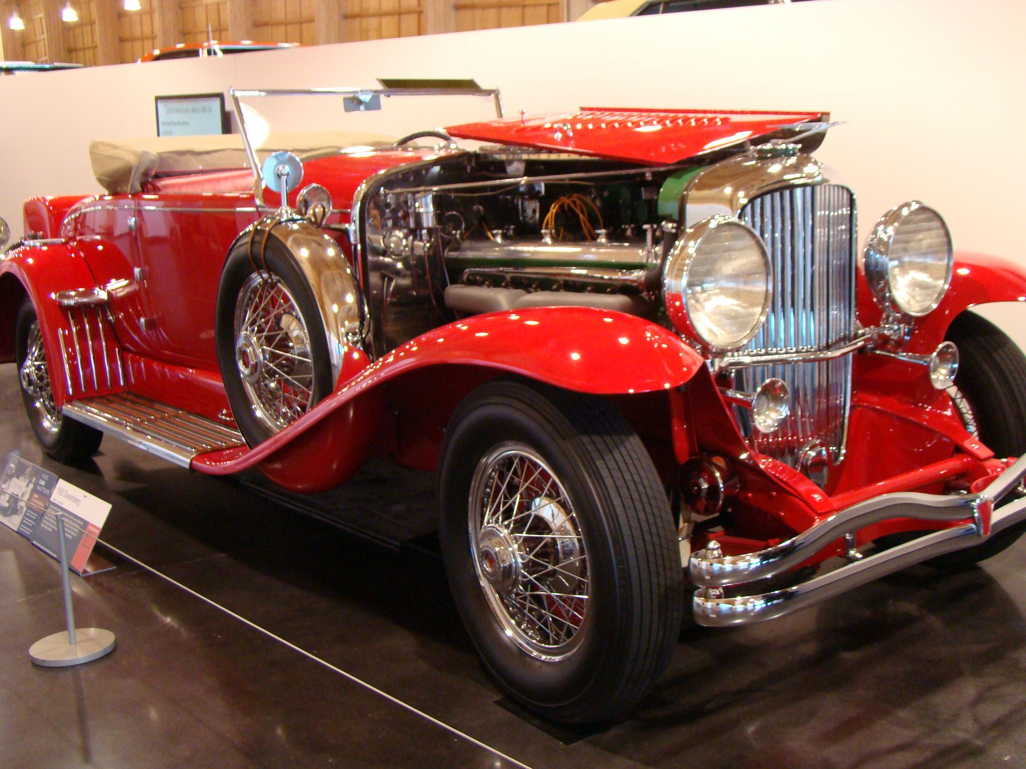 1930 Duesenberg Brought To You By The Car Insurance Agents At