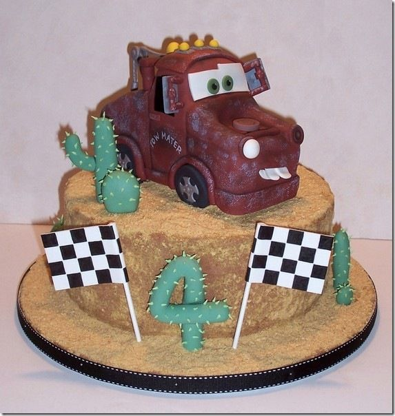 Magnificent Cute Tow Mater Birthday Cake With Images Disney Cars Cake Tow Funny Birthday Cards Online Bapapcheapnameinfo