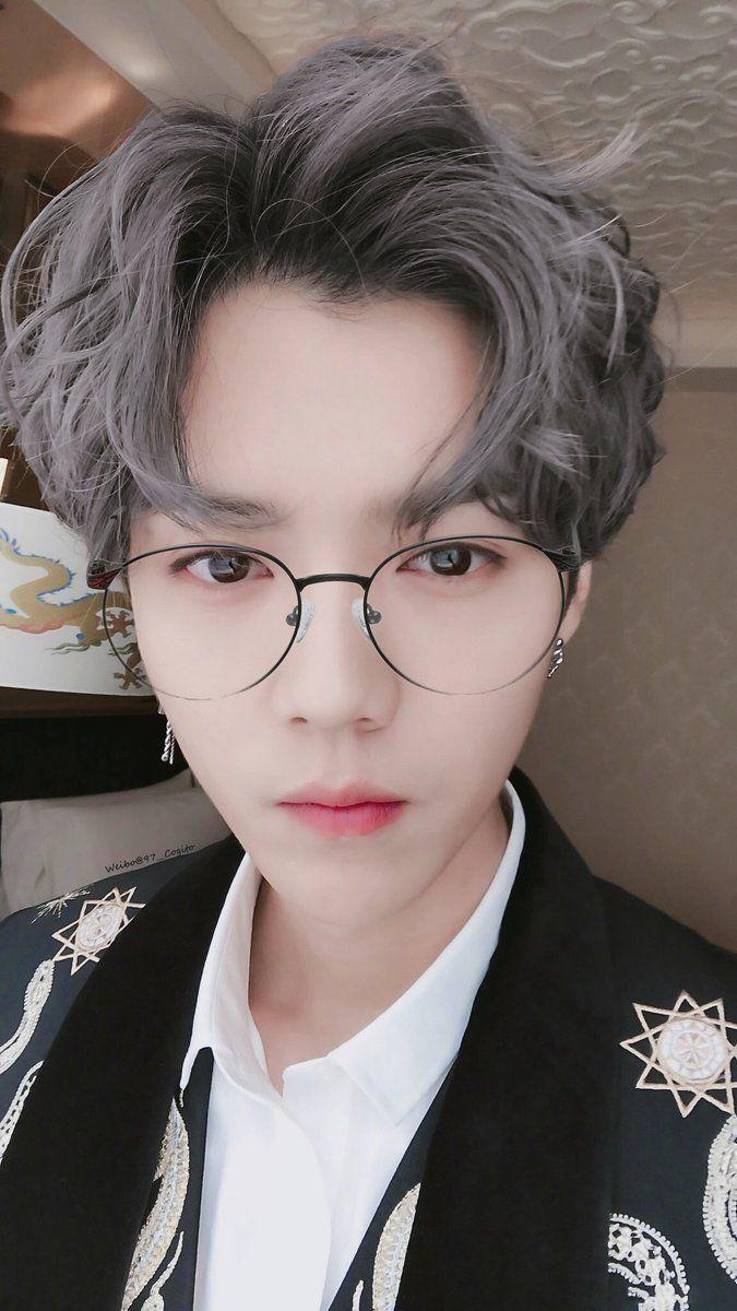 Korean baby boy hairstyle l u h a n  exoot  luhanلوهان  pinterest  luhan exo and kpop