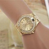 moda femenina rhinestones reloj de pulsera de cua... – USD $ 11.99