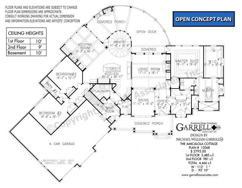 Amicalola Cottage 12068 Garrell Associates Inc In 2020 Craftsman Style House Plans Cottage House Plans Luxury House Plans
